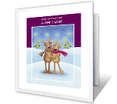 Our Wonderful Life christmas printable cards