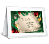 My Husband, My Friend christmas printable cards