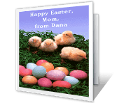 So Lucky to Have You, Mom easter printable cards