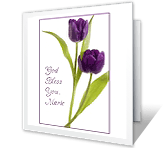 God Bless You easter printable cards
