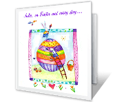 Delightful Moments easter printable cards