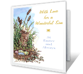 Wonderful Son easter printable cards