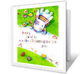 Sweet Granddaughter easter printable cards