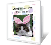 From the Cat easter printable cards