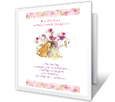Wonderful Daughter easter printable cards