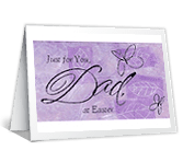 Dad, You're Loved easter printable cards