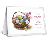 Because of Friends <br> Like You easter printable cards