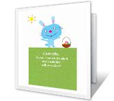 What&#146;s that Smell? easter printable cards