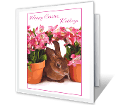 Simple Pleasures easter printable cards