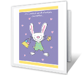 Somebunny Loves You easter printable cards