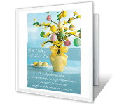 From Our Family to Yours easter printable cards