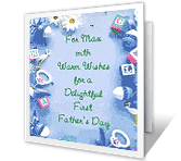 It's Your First Father's Day! father's day printable cards