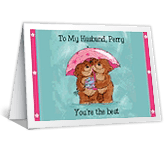 I'm the Luckiest father's day printable cards