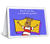 It's Your Day! father's day printable cards
