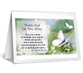 Thank God for You mothers day printable cards