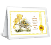 A Grandma's Love mothers day printable cards