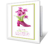 For A Special Woman printable mothers day card