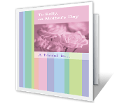 A Friend Is... mothers day printable cards