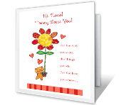 Thanks, Nana printable mothers day card