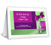 Our Wish for You mothers day printable cards