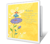 Mother's Day Wishes For You printable mothers day card