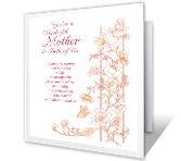 You've Enriched Our Lives mothers day printable cards