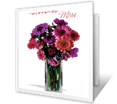 I Love You, Mom mothers day printable cards