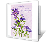 Proud of Daughter-in-law mothers day printable cards