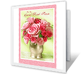 Grateful for Our Friendship mothers day printable cards