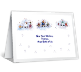From Both of Us new years printable cards