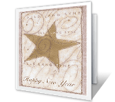 New Year's Printable Cards - Happy Beginnings