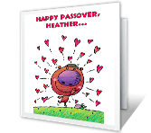 Matzah Love passover printable cards