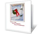 Wishing You a Season of Joy seasons greetings printable cards