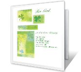 A Celtic Blessing <br> for You st. patricks day printable cards