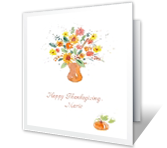 Joys and Blessings thanksgiving printable cards