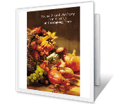 From All of Us to You thanksgiving printable cards