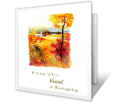 Blessings to You thanksgiving printable cards