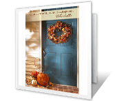 Crossing the Miles thanksgiving printable cards