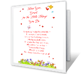 The Little Things valentines day printable cards