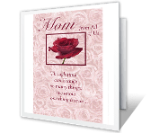 To Mom from All of Us valentines day printable cards