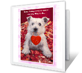 Someone Special printable valentine card