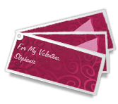 Romantic Coupons valentines day printable cards
