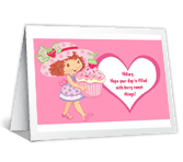 Berry Sweet Things valentines day printable cards