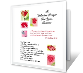 A Valentine Prayer valentines day printable cards