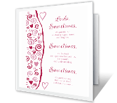 Things That Make<br> You Special valentines day printable cards