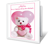 You're a Sweet Granddaughter valentines day printable cards