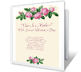 What Is a Mother? valentines day printable cards