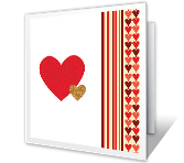 Lucky To Have You valentines day printable cards