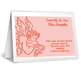 Angels Help and Comfort encouragement printable cards