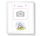 Friends Forever<br>Add-a-Photo best friends printable cards